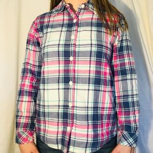 Riders by Lee fleece lined Plaid button up